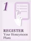 Register Your Honeymoon Plans